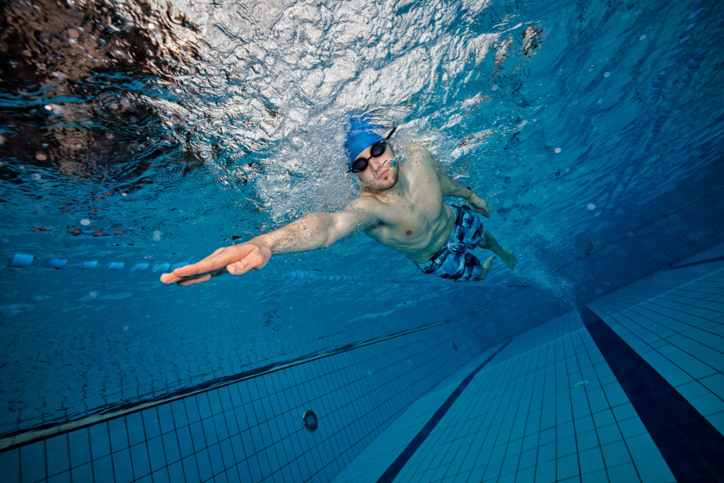 Swimming: How hard can it be?