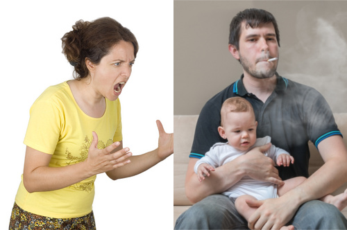 The Disastrous Duo: Controlling Mother, Passive Father