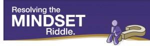 Logo for Resolving The Mindset Riddle workshop